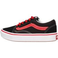 Sapatos Rapaz Sapatilhas Vans - Comfycush old skool nero VN0A4U334HJ1 NERO