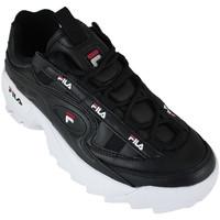 Sapatos Homem Sapatilhas Fila d-formation black/white/red Preto