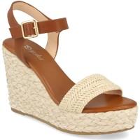 Sapatos Mulher Sandálias Prisska YB519 Beige