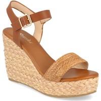 Sapatos Mulher Sandálias Prisska YB519 Camel
