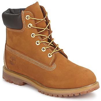Sapatos Mulher Botas baixas Timberland 6IN PREMIUM BOOT - W Castanho