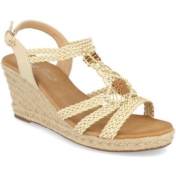 Sapatos Mulher Sandálias Milaya 3R46 Beige