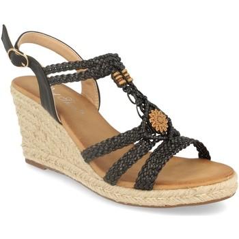 Sapatos Mulher Sandálias Milaya 3R46 Negro