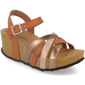 Sapatos Mulher Sandálias Silvian Heach M-160 Camel