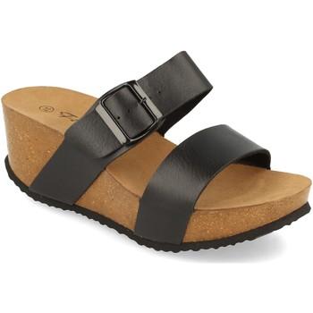 Sapatos Mulher Chinelos Silvian Heach M-08 Negro
