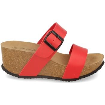 Sapatos Mulher Chinelos Silvian Heach M-08 Rojo