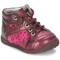 Sapatos Rapariga Botas baixas Catimini CABILLAUD Rosa / Castanho