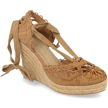 Sapatos Mulher Alpargatas H&d YZ19-53 Camel