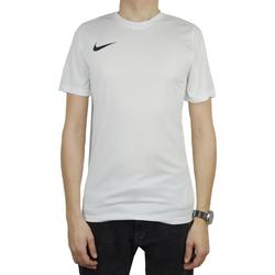Textil Homem T-Shirt mangas curtas Nike Park VII Tee Blanc