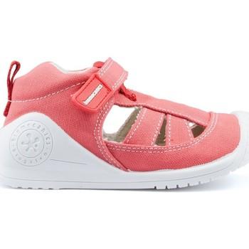 Sapatos Criança Sandálias Biomecanics Sandálias BIOMECÂNICAS CANVAS BABY AZAI RED