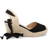 Sapatos Mulher Alpargatas Buonarotti 1JB-19264 Negro