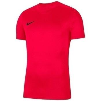 Textil Rapaz T-Shirt mangas curtas Nike JR Dry Park Vii Vermelho