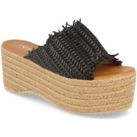 Sapatos Mulher Chinelos Silvian Heach TS-6 Negro