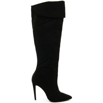 Sapatos Mulher Botas altas Parodi Shoes 60/2147/99 Black