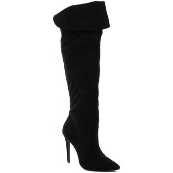 Sapatos Mulher Botas altas Parodi Passion 60/2147/99 Preto