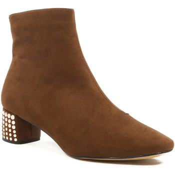 Sapatos Mulher Botins Parodi Shoes 73/2501/02 Beige