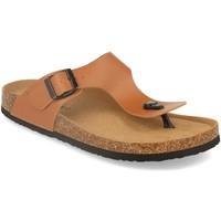 Sapatos Homem Chinelos Silvian Heach M-152 Camel