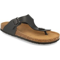 Sapatos Homem Chinelos Silvian Heach M-152 Negro