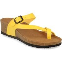 Sapatos Mulher Sandálias Silvian Heach M-28 Amarillo