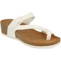 Sapatos Mulher Sandálias Silvian Heach M-28 Blanco