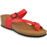 Sapatos Mulher Sandálias Silvian Heach M-28 Rojo