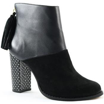 Sapatos Mulher Botas Parodi Shoes 60/9458/01 Black