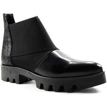 Sapatos Mulher Botas baixas Parodi Shoes 65/6780/01 Black