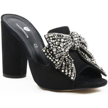 Sapatos Mulher Chinelos Parodi Shoes 73/2752/01 Black