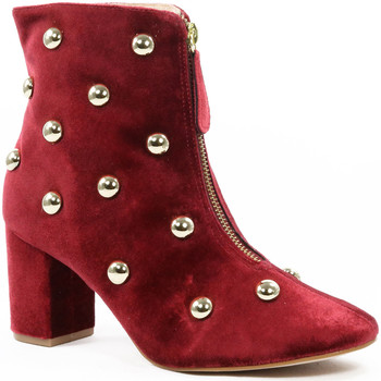 Sapatos Mulher Botins Parodi Shoes 82/3711/02 Red