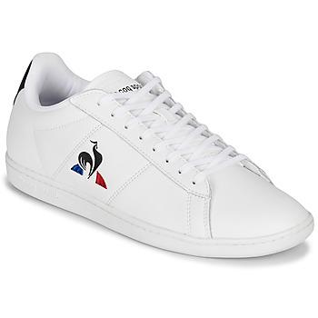 Sapatos Homem Sapatilhas Le Coq Sportif COURTSET Branco / Marinho