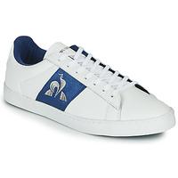Sapatos Mulher Sapatilhas Le Coq Sportif ELSA Branco / Azul