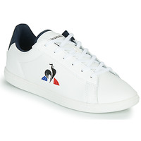 Sapatos Criança Sapatilhas Le Coq Sportif COURTSET JUNIOR Branco / Azul