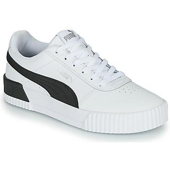 Sapatos Mulher Sapatilhas Puma CARINA Branco / Preto