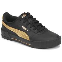 Sapatos Mulher Sapatilhas Puma CARINA Preto / Ouro