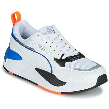 Sapatos Criança Sapatilhas Puma X-RAY Branco / Azul / Preto
