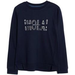 Textil Rapariga Sweats Mayoral Kids Pullover punto roma Marino azul