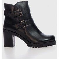 Sapatos Mulher Botins Oxyd WH-238 H06 Negro