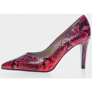 Sapatos Mulher Escarpim Paco Herrero 4787A Rojo