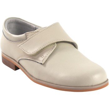 Sapatos Rapaz Sapatos Bubble Bobble Sapato menino  b521 bege Branco