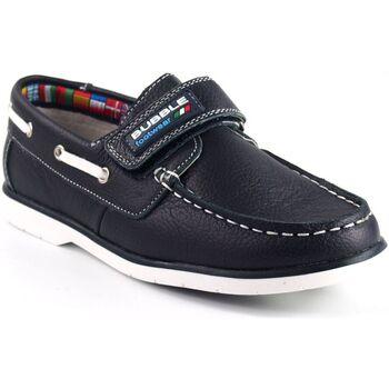 Sapatos Rapaz Mocassins Bubble Bobble Sapato menino  a1837-s / a1837-l azul Azul