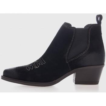 Sapatos Mulher Botins Mesquitashoes 3121 Negro