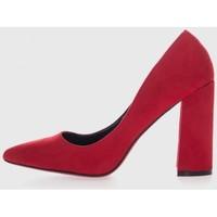 Sapatos Mulher Escarpim Kamome Trends SQ-80 Rojo