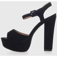 Sapatos Mulher Sandálias Kamome Trends KZY576 Negro