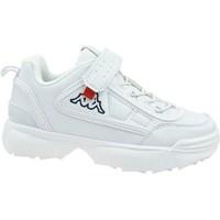 Sapatos Criança Sapatilhas Kappa Rave NC K Branco