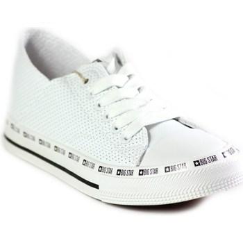 Sapatos Mulher Sapatilhas Big Star FF274024 Branco