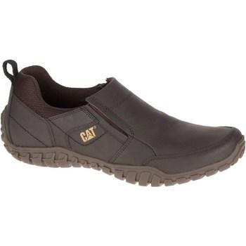 Sapatos Homem Mocassins Caterpillar Opine Castanho