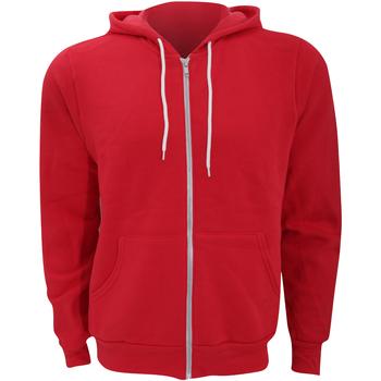 Textil Homem Sweats Bella + Canvas CA3739 Vermelho
