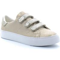 Sapatos Sapatilhas No Name ARCADE STRAPS Beige