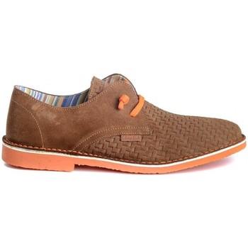 Sapatos Homem Sapatos Colour Feet KHALIF Castanho