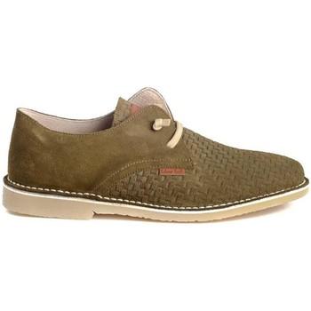 Sapatos Homem Sapatos Colour Feet KHALIF Verde